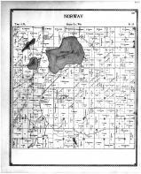 Norway Township, Wind Lake, Racine and Kenosha Counties 1899